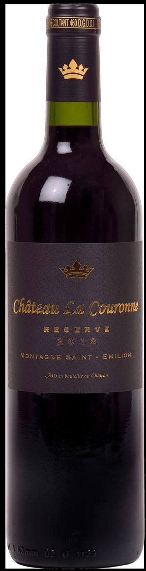 bouteille Château La Couronne